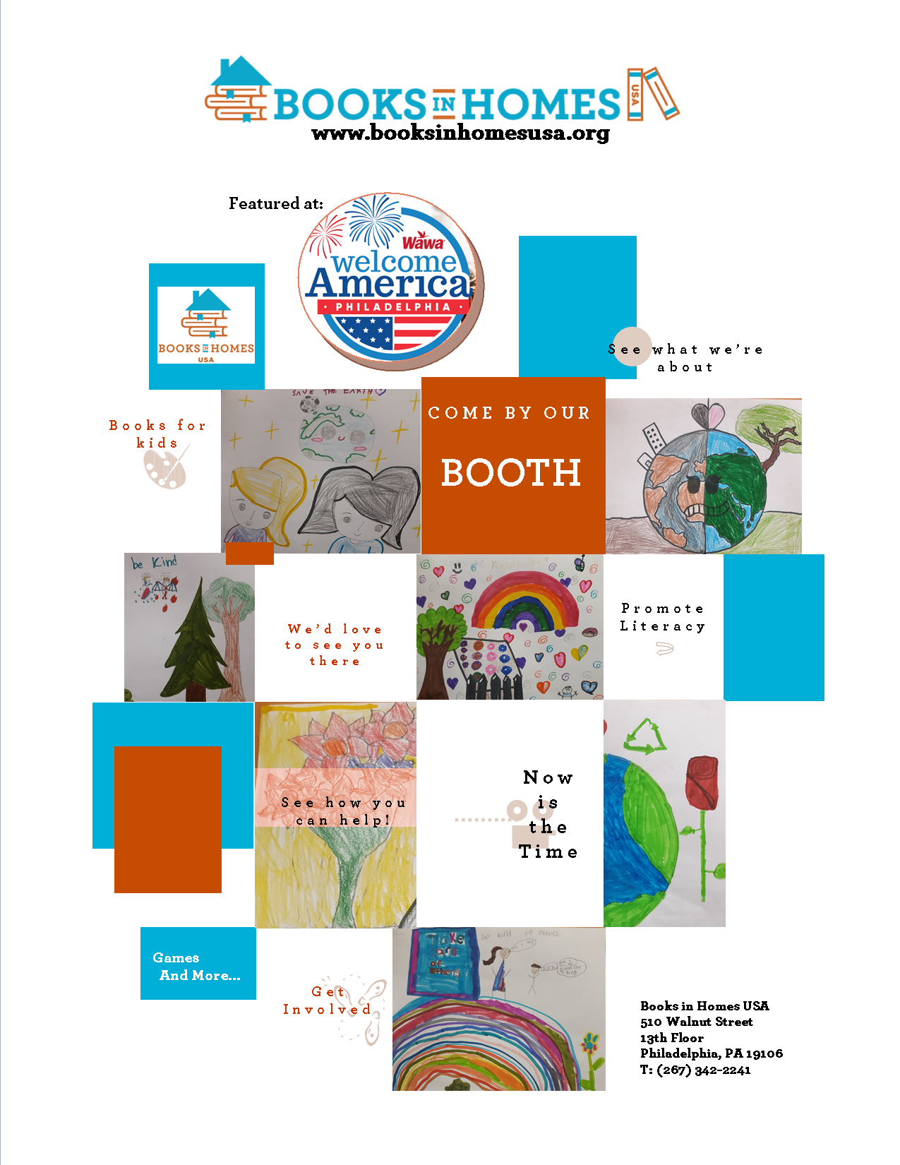 Free Book Giveaways at Welcome America - Philadelphia